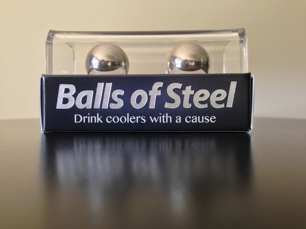 Balls of steel have dropped and are take a stand against for Balls of steel