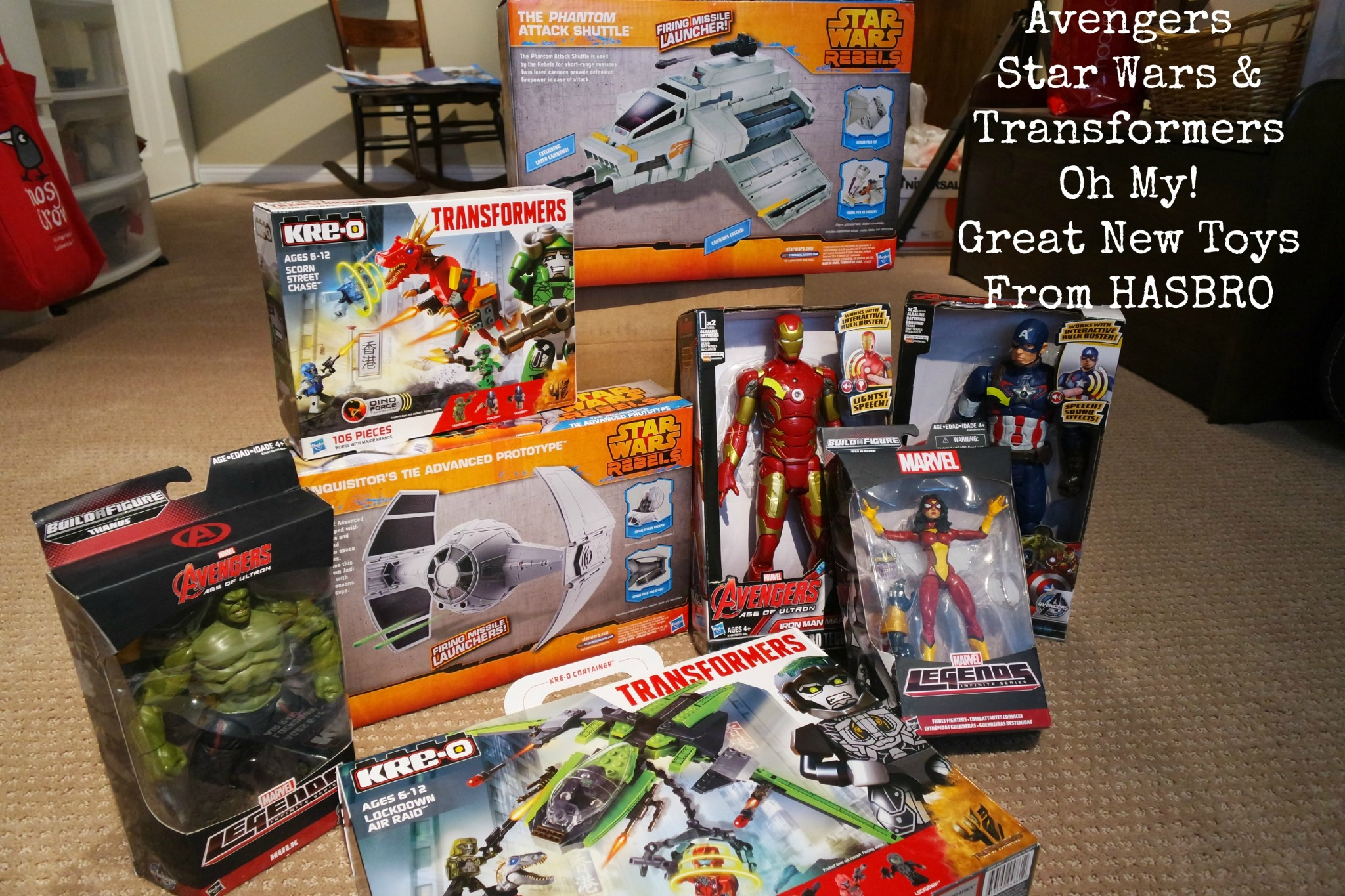 Toys From Hasbro : New avengers star wars transformer toys from hasbro