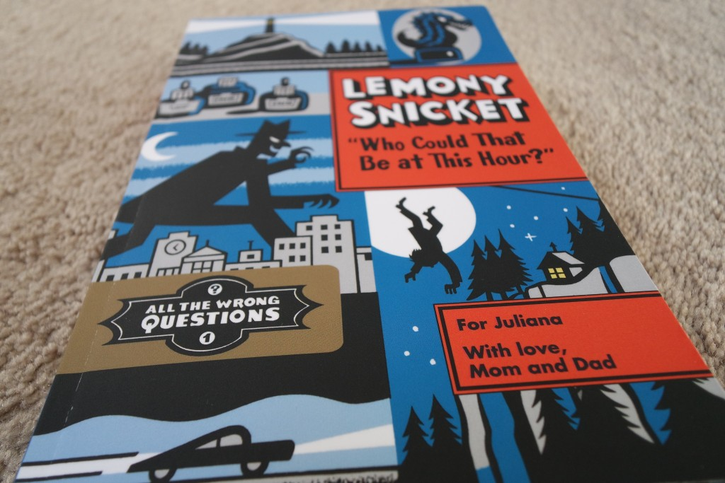 For the first time ever, Lemony Snicket's All The Wrong Questions series is available in a personalized format on Put Me In The Story!