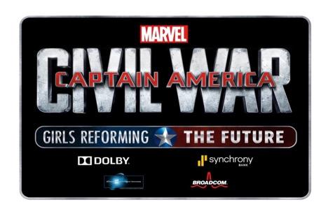 Marvel's CAPTAIN AMERICA: CIVIL WAR - Girls Reforming the Future Challenge!!!