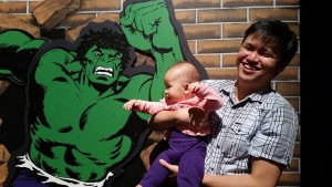 Michael Kwan is the 647th Dad to be spotlighted in the Dads in the Limelight series on the Dad of Divas Blog