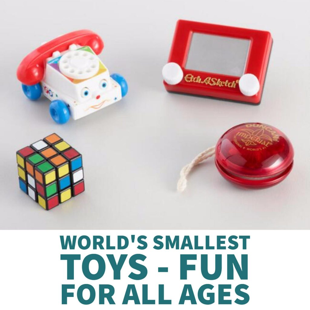 World's Smallest Toys - Fun For All Ages