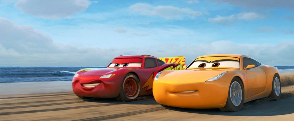 In Cars 3, Blindsided By A New Generation Of Blazing Fast Racers, Lightning