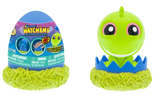 Mash'Ems Hatch'Ems deliver EXPLOSIVE fun. Just pop the lid and bop the top to crack and hatch a squishy surprise!
