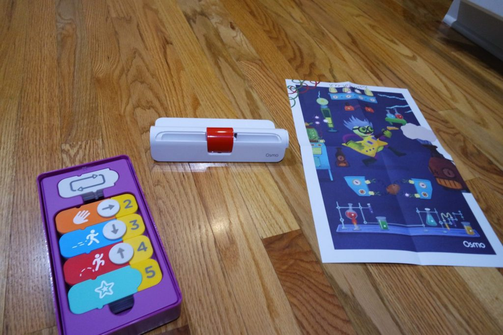 Osmo iPhone Base expands the reach of educational and fun experiences that teach lifelong skill sets with technology that naturally captivates kids' attention.