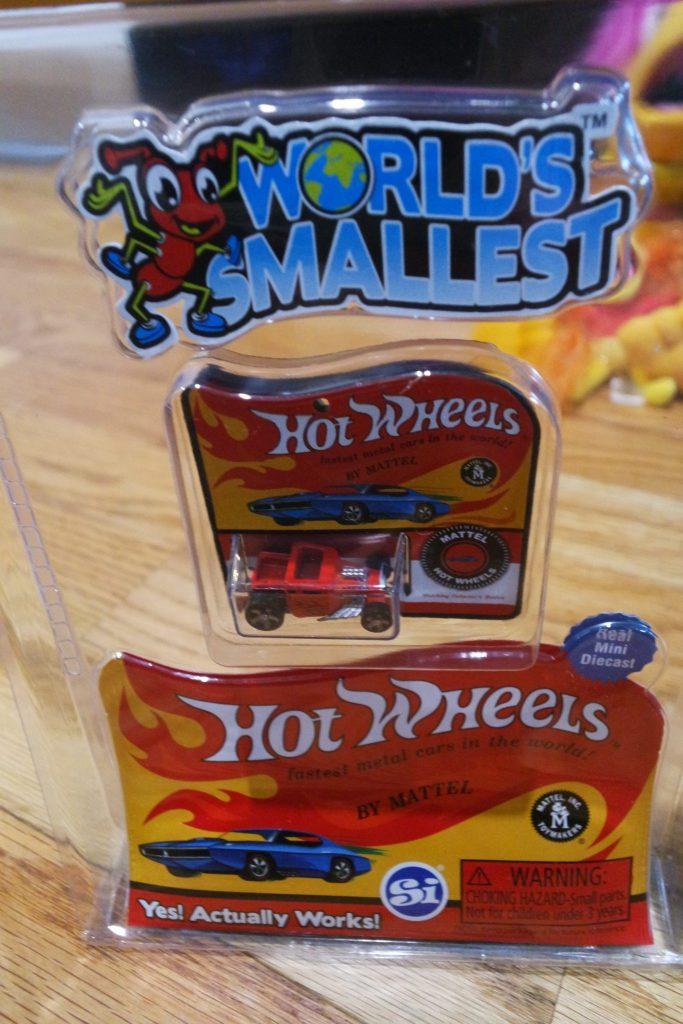 World's Smallest Toys - Great Stocking Stuffers!