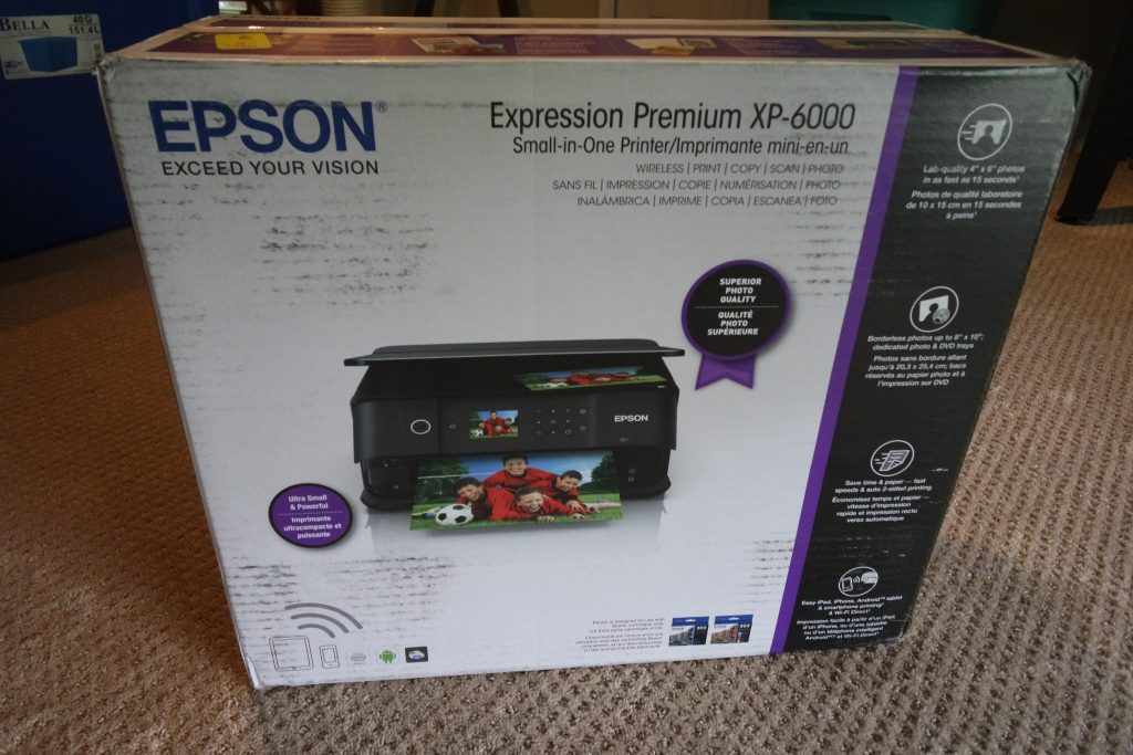 Expression® Premium XP-6000 Small-in-One