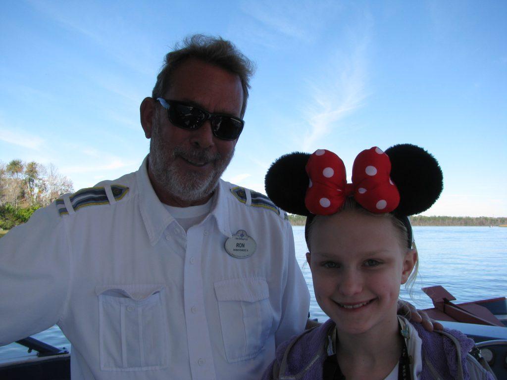 Walt Disney World boat transportation