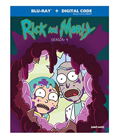 Rick and Morty: Season 4 Blu-ray Giveaway - Dad of Divas