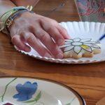 Painting cookies!