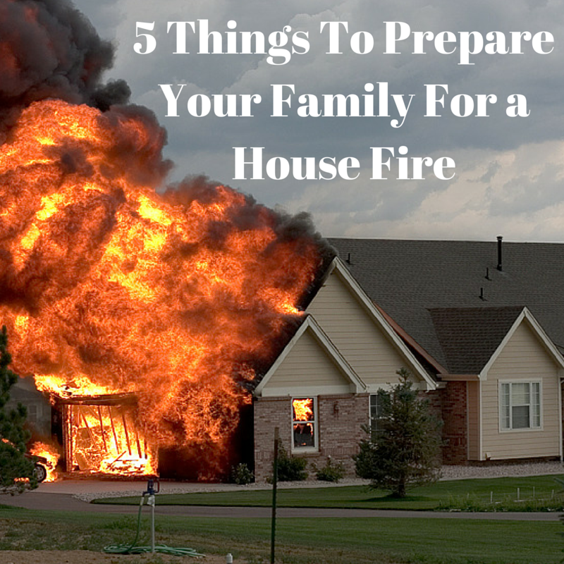 5 Things To Prepare Your Family For a House Fire