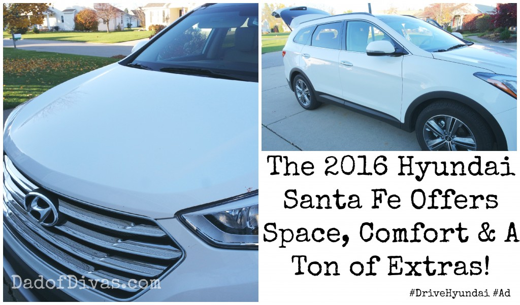 The 2016 Hyundai Santa Fe Offers Space, Comfort & A Ton of Extras!