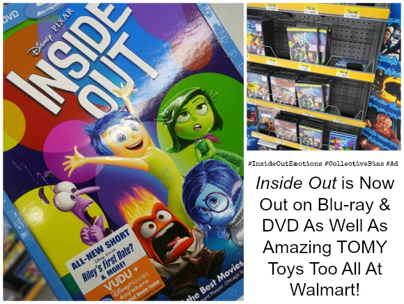 Inside Out Is Now Available on Blu-ray and DVD