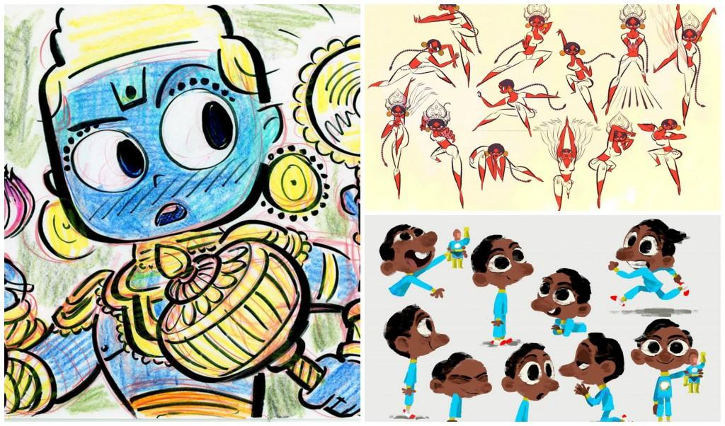 Sanjay Patel, creator of the Disney Pixar short , Sanjay's Super Team