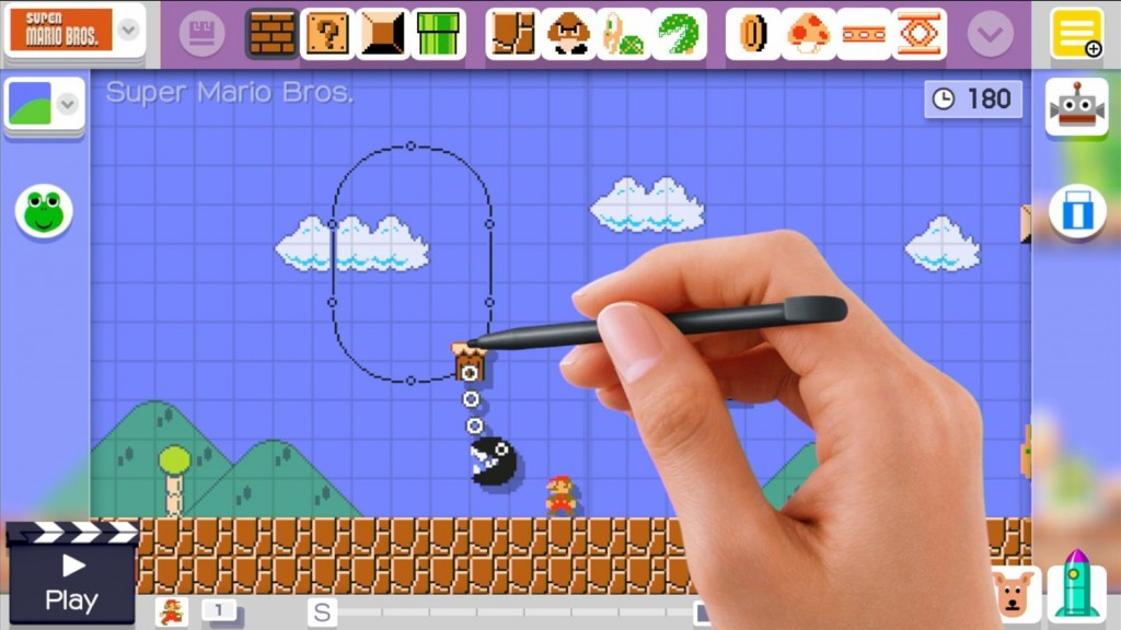 Super Mario Maker from Nintendo lets you take control of the game and create amazing worlds for unique game play!