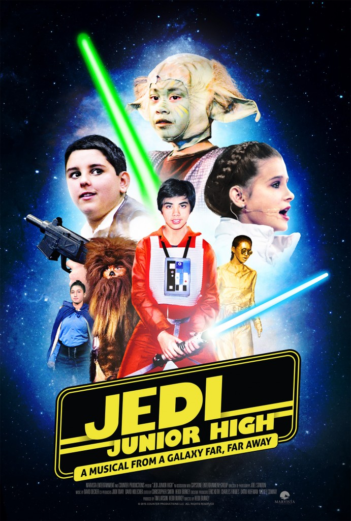 JEDI JUNIOR HIGH, a captivating behind-the-scenes look at the Force behind the making of a Star Wars themed musical production, debuts on Digital HD and On Demand November 17th from MarVista Digital Entertainment.