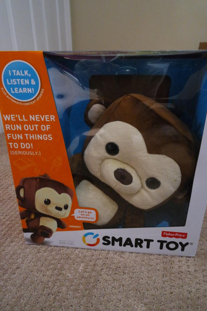 The Fisher Price Smart Toy is a great interactive toy and makes a great gift for kids!