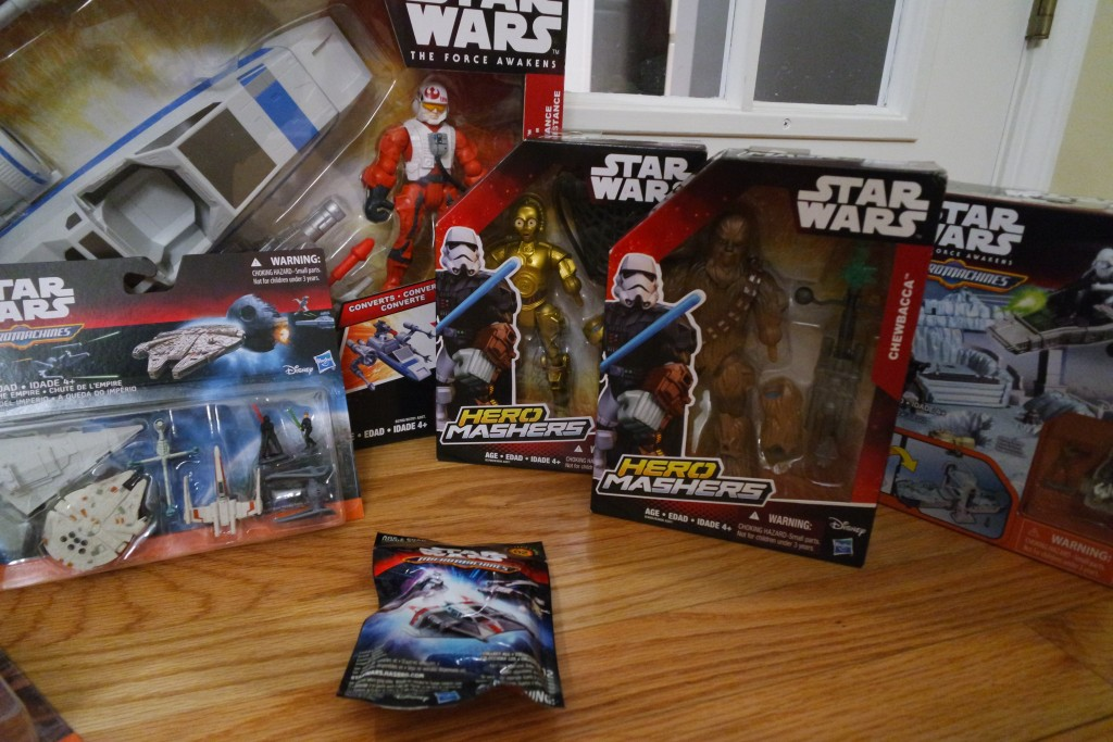 Star Wars Toys From HASBRO just in time for Star Wars The Force Awakens