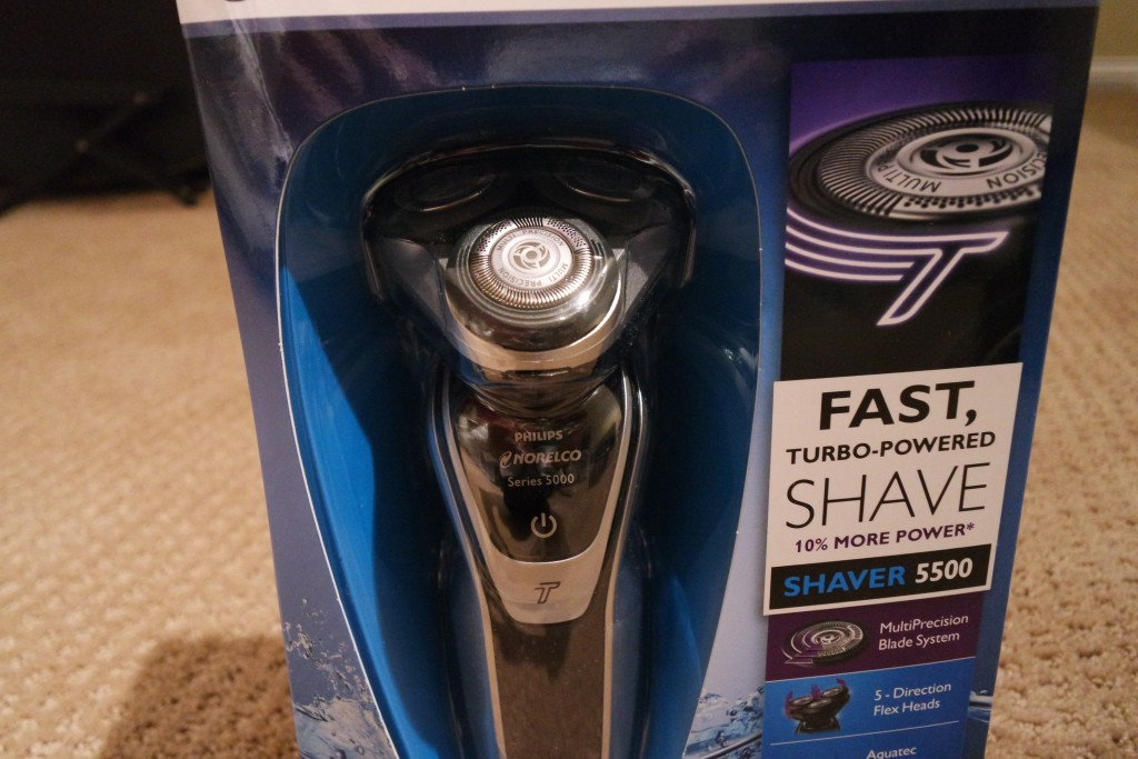 The Norelco 5500 Shaver: an economical way to get the shave you want