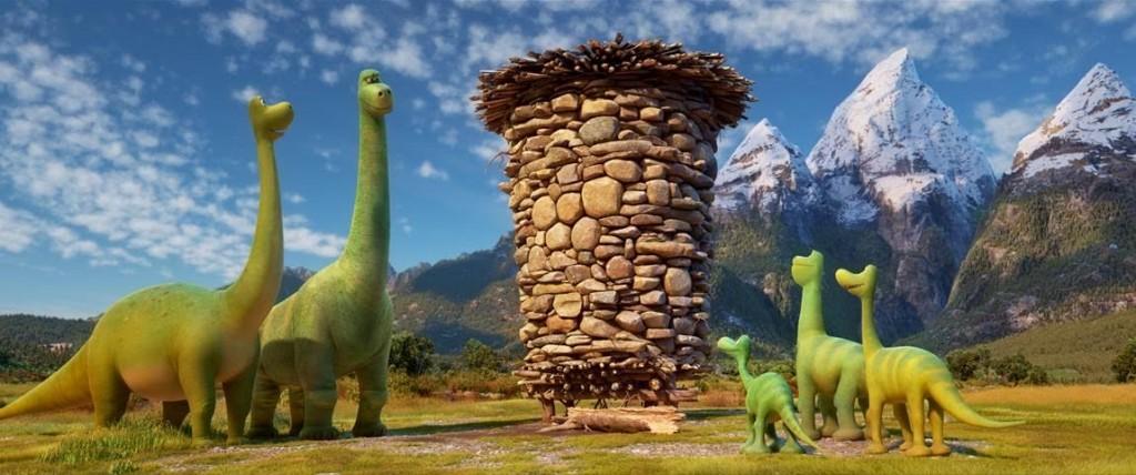 Disney and Pixar present The Good Dinosaur