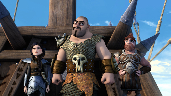 The brand new original series, Dragons: Race to the Edge Season 2 from DreamWorks Animation flies to Netflix Friday, January 8th! Toothless and Hiccup are back in 13 thrilling new episodes featuring familiar characters from How to Train Your Dragon and a new power-hungry villain!