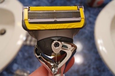 Gillette Fusion ProShield gives you a close shave