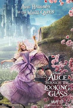 """In Disney's """"Alice Through the Looking Glass,"""" an all-new spectacular adventure featuring the unforgettable characters from Lewis Carroll's beloved stories, Alice returns to the whimsical world of Underland and travels back in time to save the Mad Hatter."""