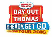 Day out with Thomas at Greenfield Village in Dearborn, Michigan