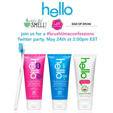 Hello Products #BrushtimeConfessions Twitter Party, 2PM on May 24, 2016
