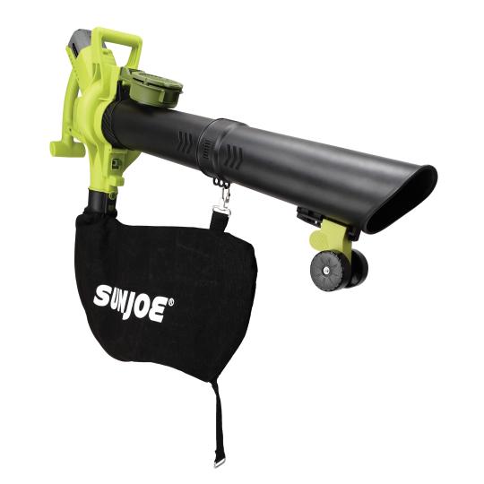 Sun Joe iON Cordless 3-in-1 Blower/Vacuum/Mulcher with Brushless Motor