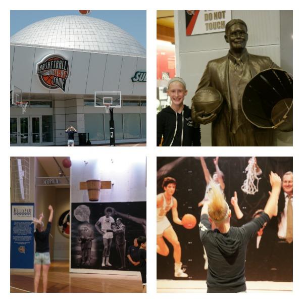 The Naismith Memorial Basketball Hall of Fame