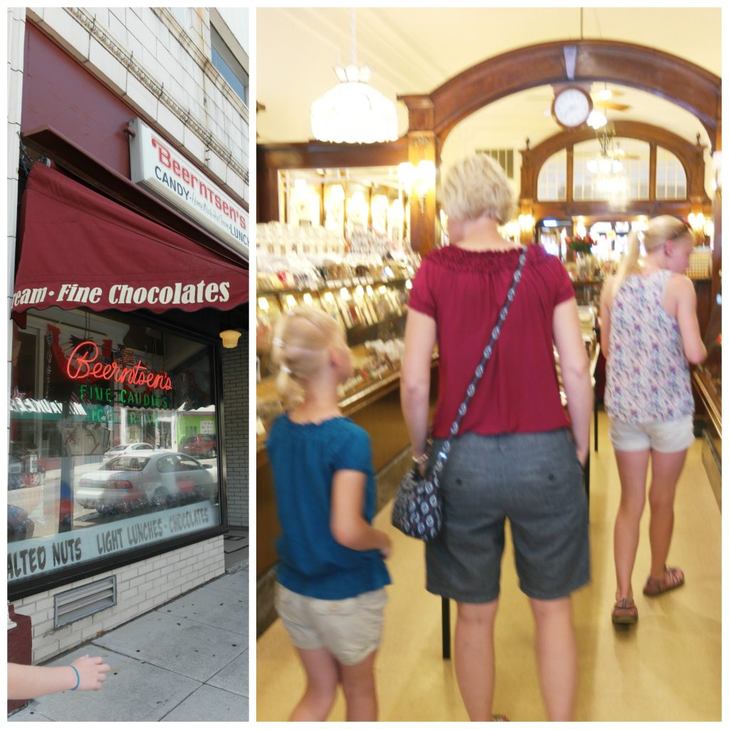 Beernsten's Confectionary  is a true treasure in Manitowoc Wisconsin