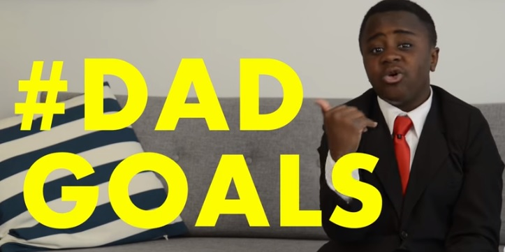 his Father's Day, show your dad how much you appreciate him with something you can't buy in a store... write him a rap about how awesome he is! Happy Father's Day, from Kid President.