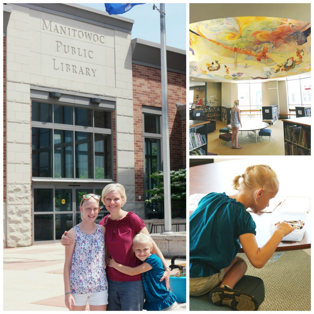 The Manitowoc Public Library is Amazing!