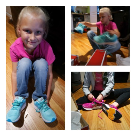New Balance shoes bring my daughters and I closer together
