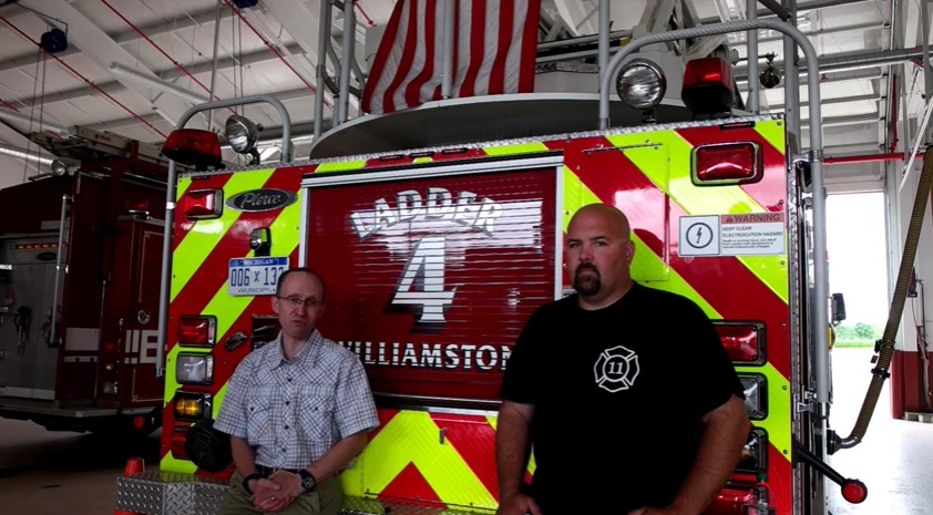 An interview with local firefighter of the NIESA / Williamston Michigan community fire department.