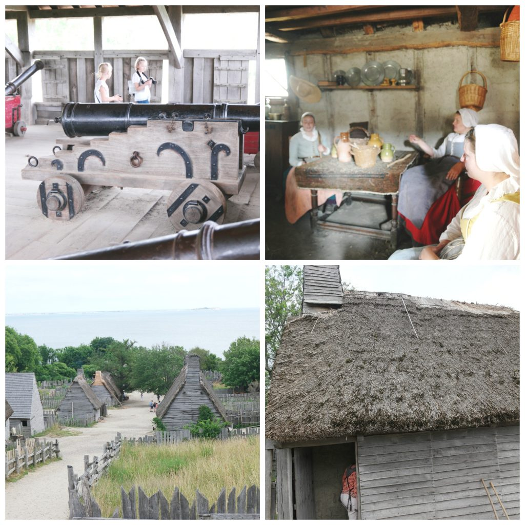 The Plimoth Plantation in Plymouth Massachusetts offers authentic experiences bringing you into the 17th century!