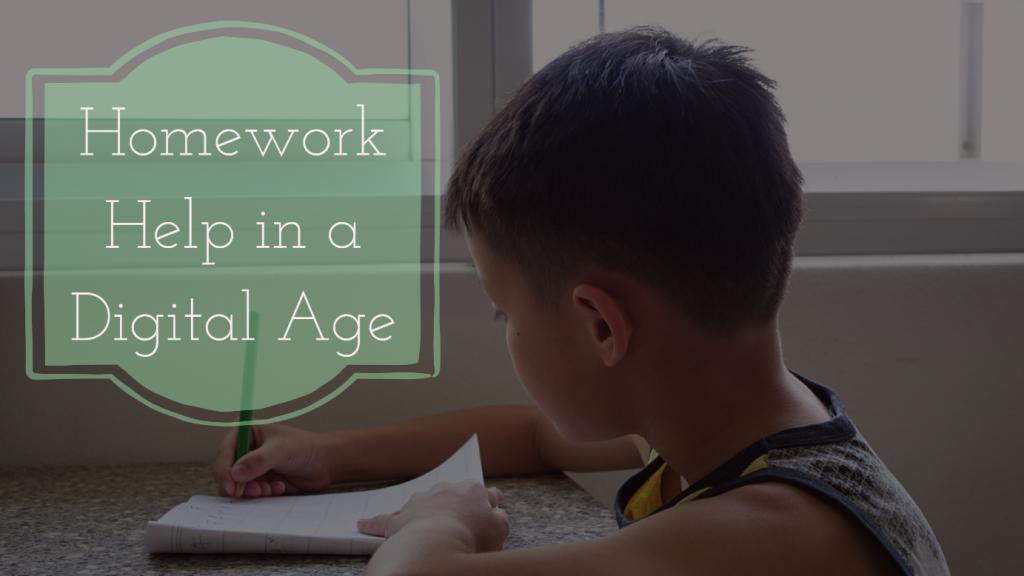 Homework Help in a Digital Age