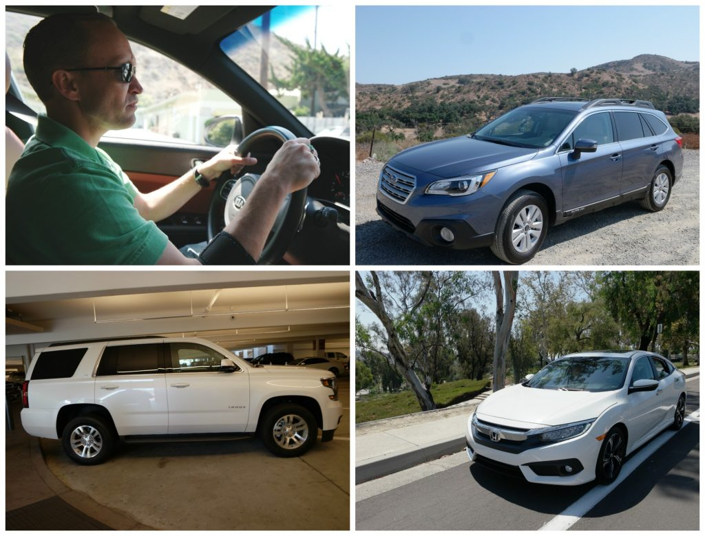 In August 2016 I visited southern California to learn more about Kelley Blue Book and to drive the top five cars for dads #KBBDads