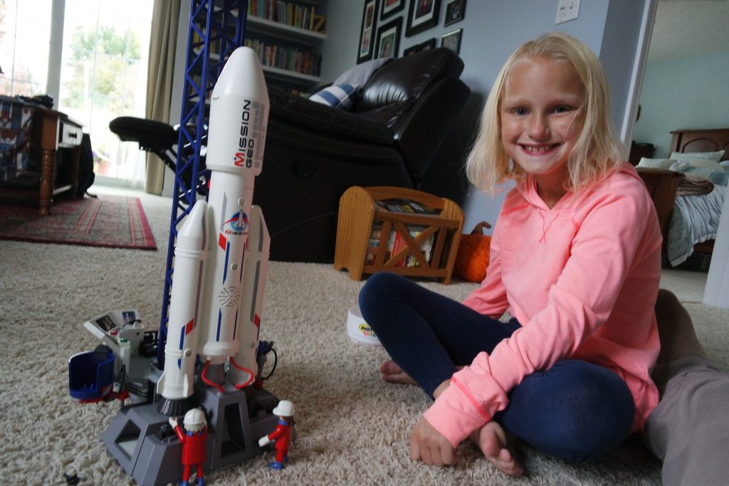 Playmobil Space Rocket with Launch Site