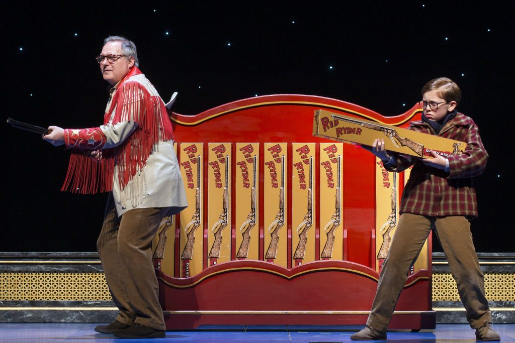 A Christmas Story Musical performance at the Fox Theatre in Detroit Michigan Giveaway