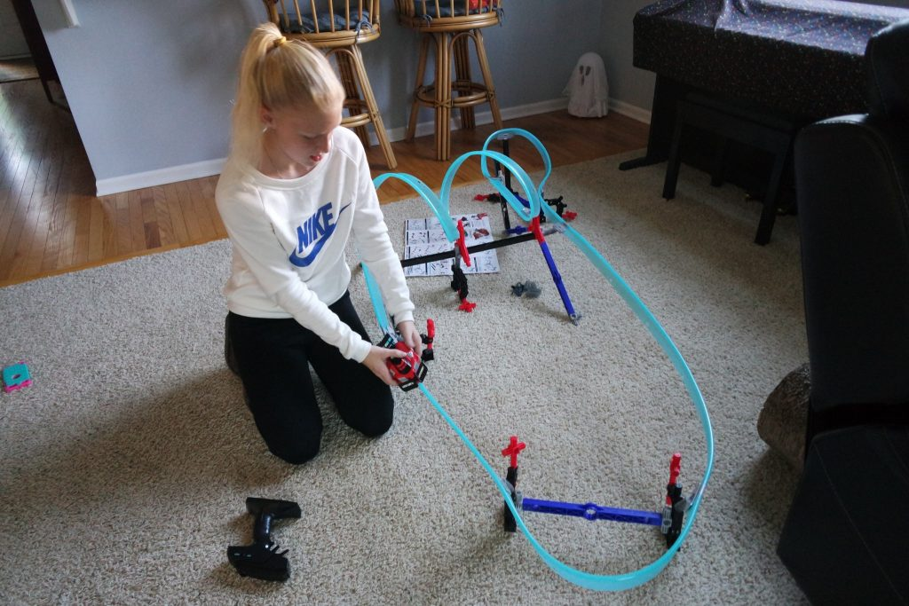 Lionel is expanding beyond model trains with the introduction of Mega Tracks, a revolutionary rail system where kids can use their imagination to design and build their own race courses!