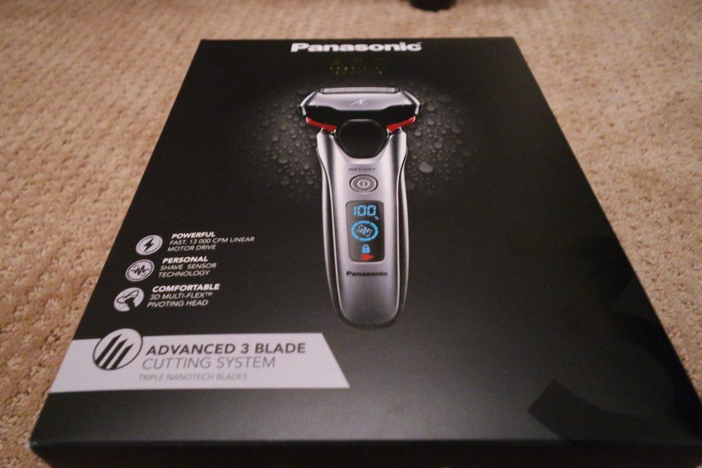 Panasonic wet/dry Arc 3 shaver