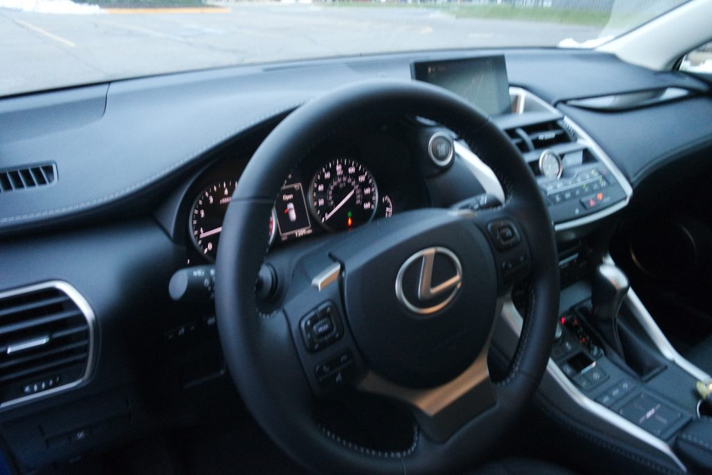The 2017 Lexus NX 200t offers style, comfort, handling and tons of technology!