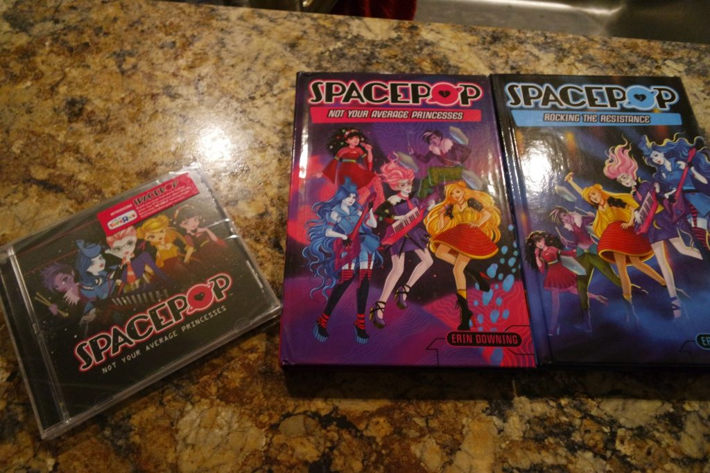 SpacePOP is an animated entertainment series focusing on girl empowerment, friendship and adventure.