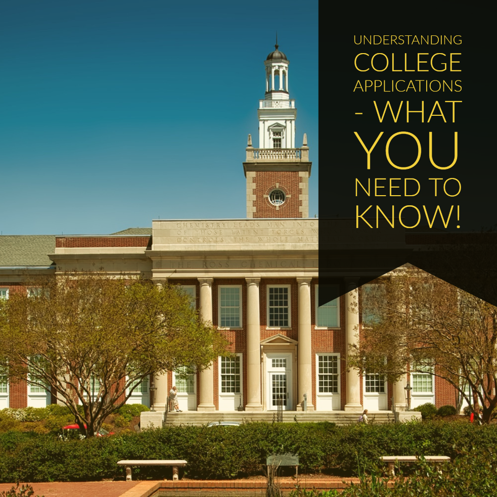 Understanding College Applications - What You Need To Know!