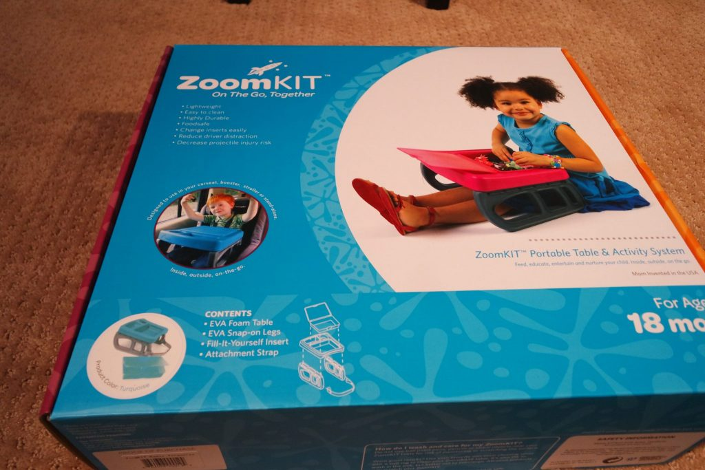 The ZoomKit is an amazing system that works from 8 months to 8 years and can grow from floor play to portable desk and homework station.