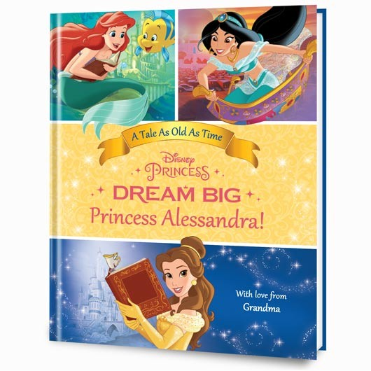 3D COVER - Dream Big, Princess- Belle's Special Edition