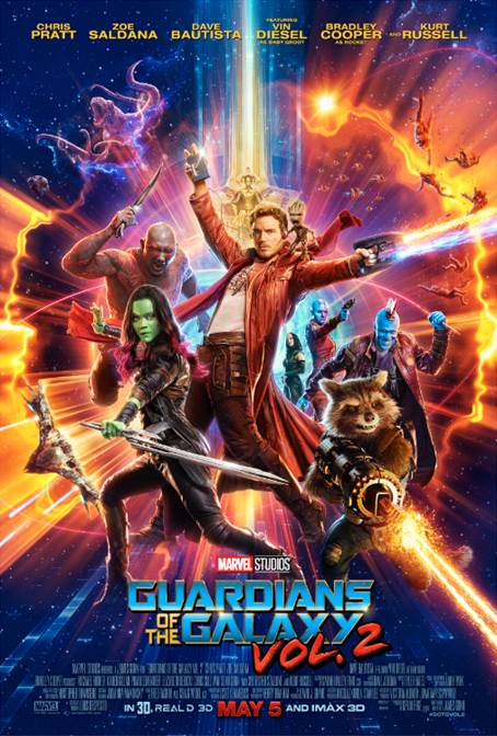 Chris Pratt just debuted a brand new trailer for Marvel Studios' GUARDIANS OF THE GALAXY VOL. 2 on Jimmy Kimmel Live!