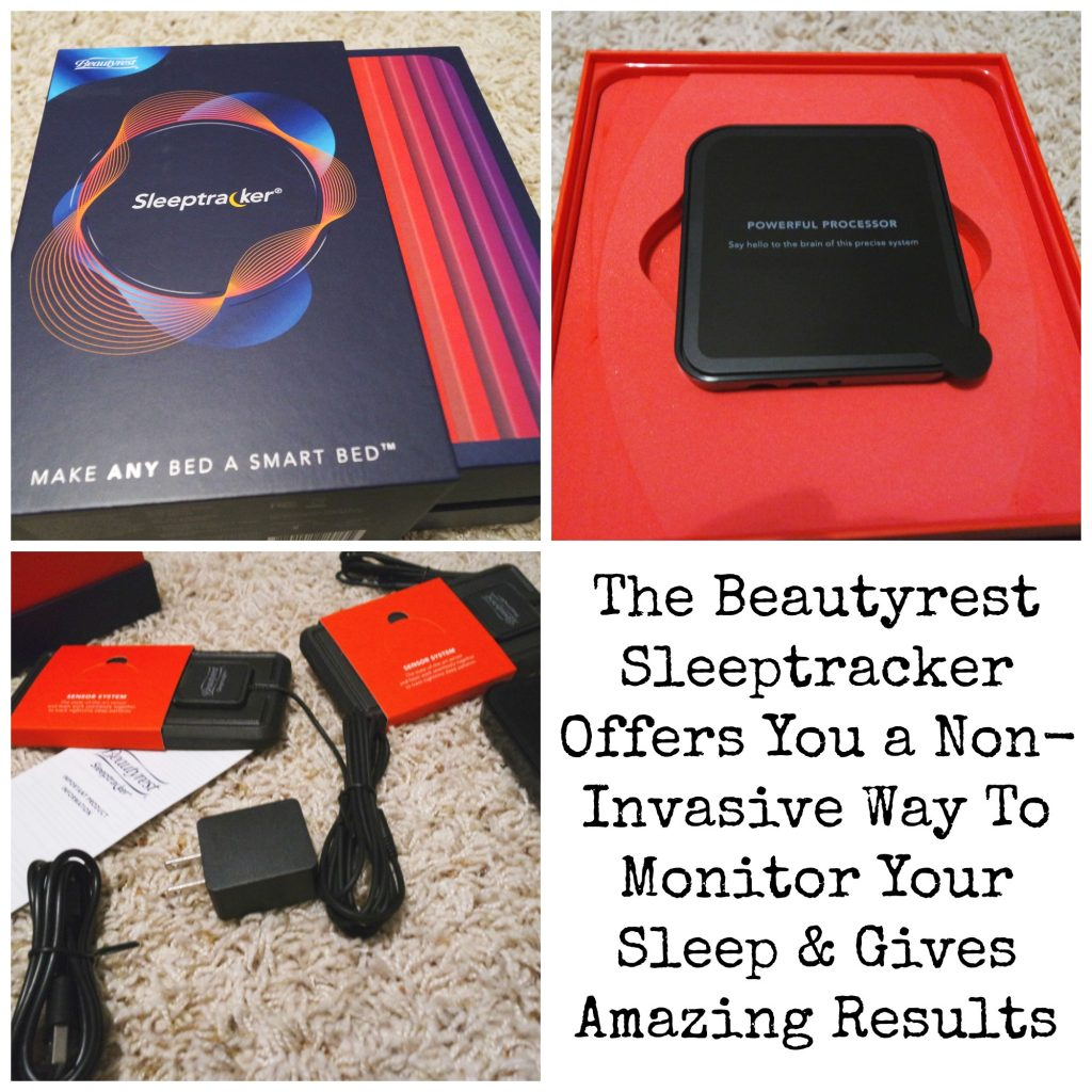 The new Beautyrest Sleeptracker monitor which gives me a closer look at the things keeping me up at night and offers me personalized, easy-to-implement insights to help me make the most of my time asleep.